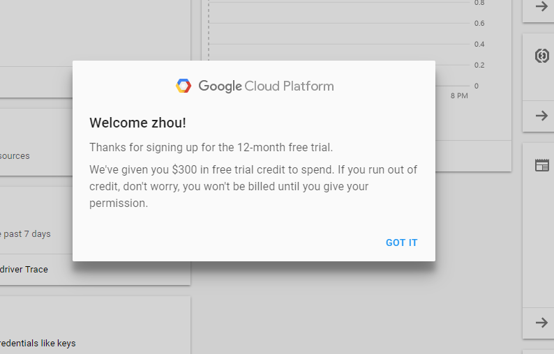 Magento跨境电商独立站运营系列教程开篇 Google奉上300美元赠金 云平台免费使用一整年 8