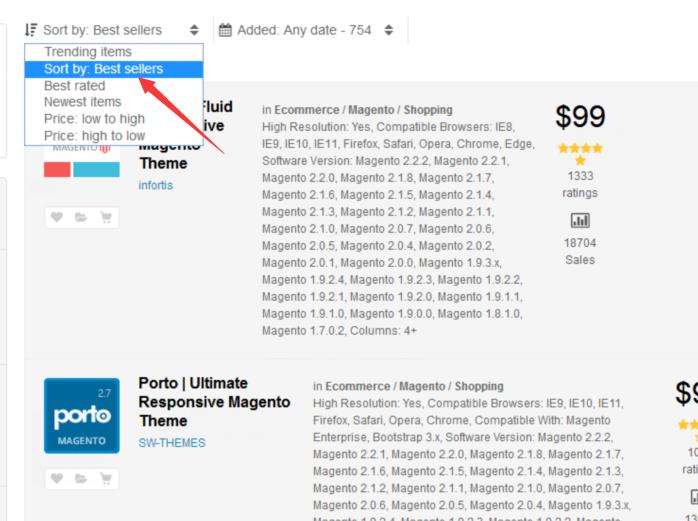 手把手教你搭建高大上的外贸B2C自建站(四) 教你如何在Themeforest上购买适合独立自建站的Magento模板 6