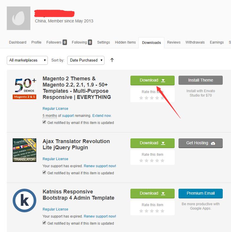 Magento跨境电商独立站运营系列教程(六) 如何安装magento自建站主题 24