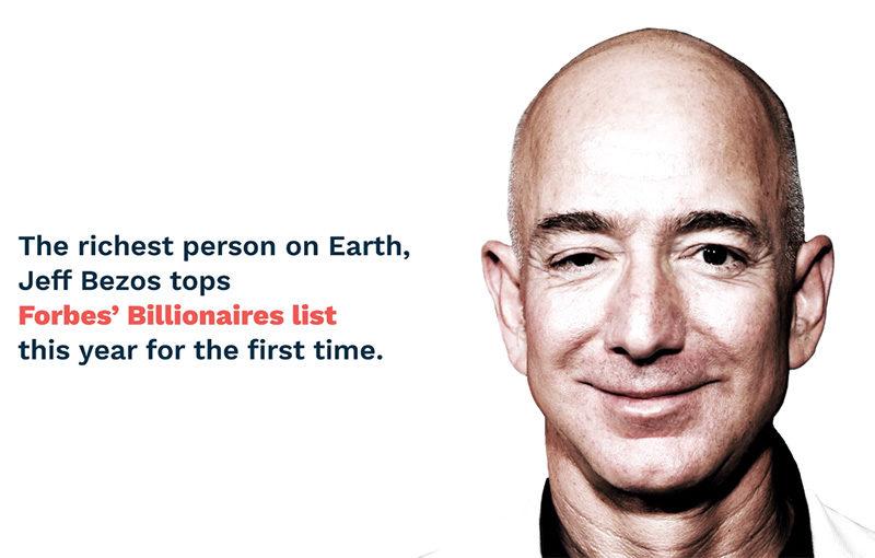 亚马逊创始人Jeff Bezos是如何一步一步登顶全球首富(视频) 2