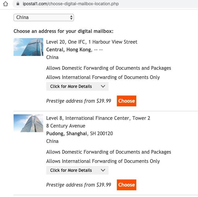 美国地址申请租用 用美国私人地址收信转运包裹 每月15美元起 72