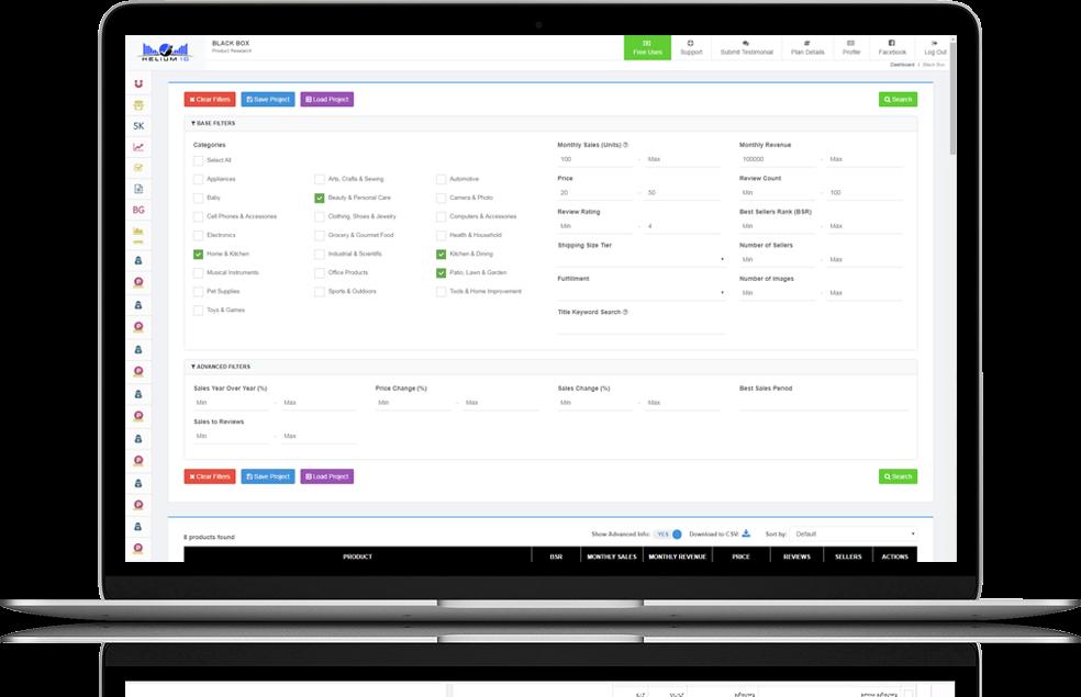 全能型亚马逊辅助运营软件Helium10 大数据选品关键字排名产品优化 不可或缺的亚马逊运营神器 117
