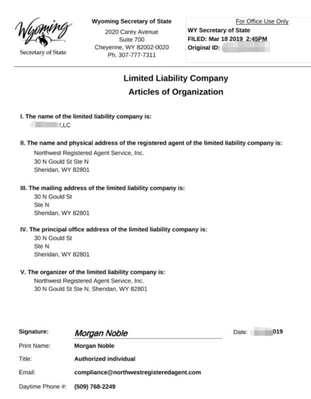 2021年美国公司注册与运营合规教程指南 75