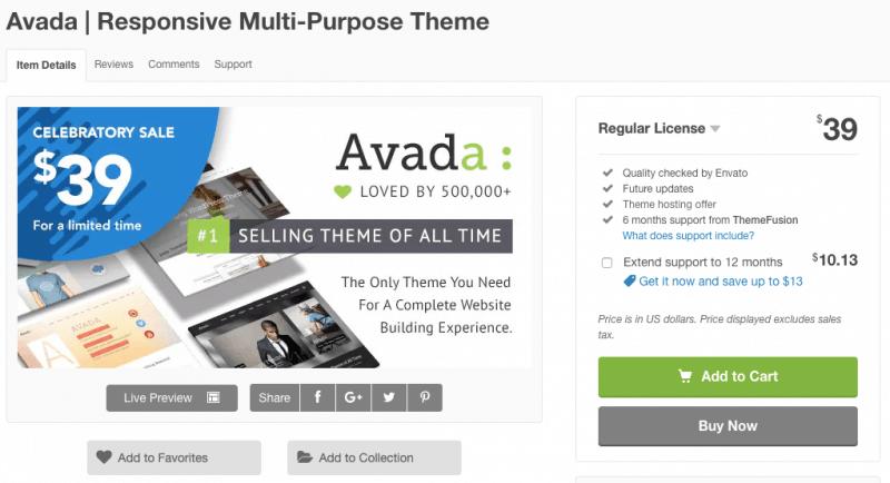 为何ThemeForest上一款售价60美元的网站模版可以卖出50万套?从商业模版看跨境电商独立自建站 6