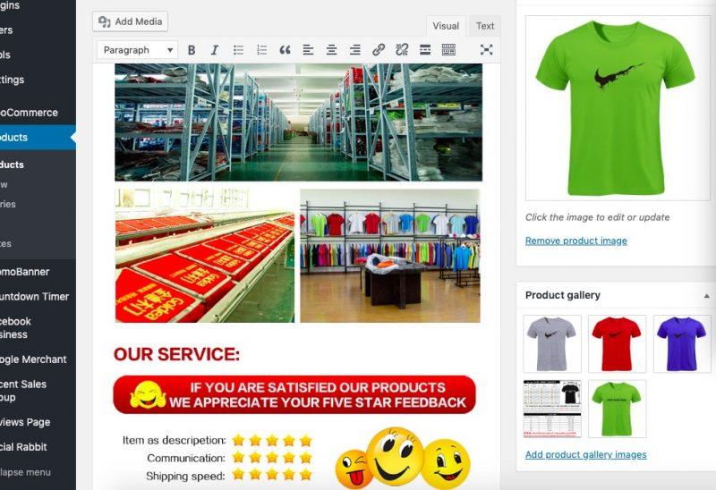 WordPress搭配WooCommerce和AliDropship插件制作网站开展Dropshipping代发货业务 47