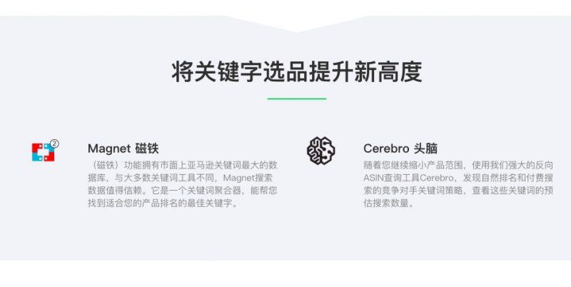 Helium10插件 全能型亚马逊辅助运营软件 亚马逊运营神器 62