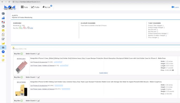 Helium10插件 全能型亚马逊辅助运营软件 亚马逊运营神器 80