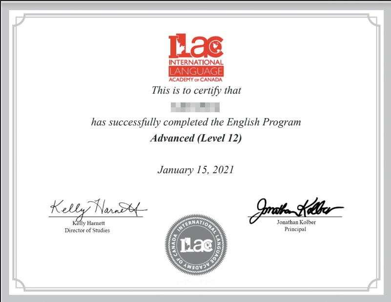 ILAC加拿大国际语言学院在线英语培训课程 我在ILAC7个月的真实学习体验 112
