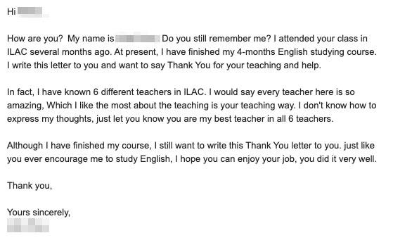 ILAC加拿大国际语言学院在线英语培训课程 我在ILAC7个月的真实学习体验 96