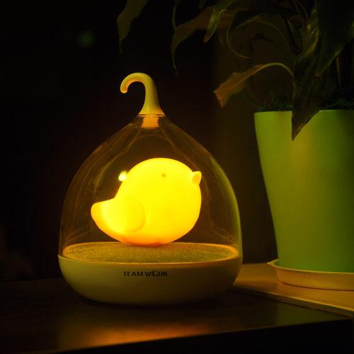 鸟笼灯LED小夜灯 12